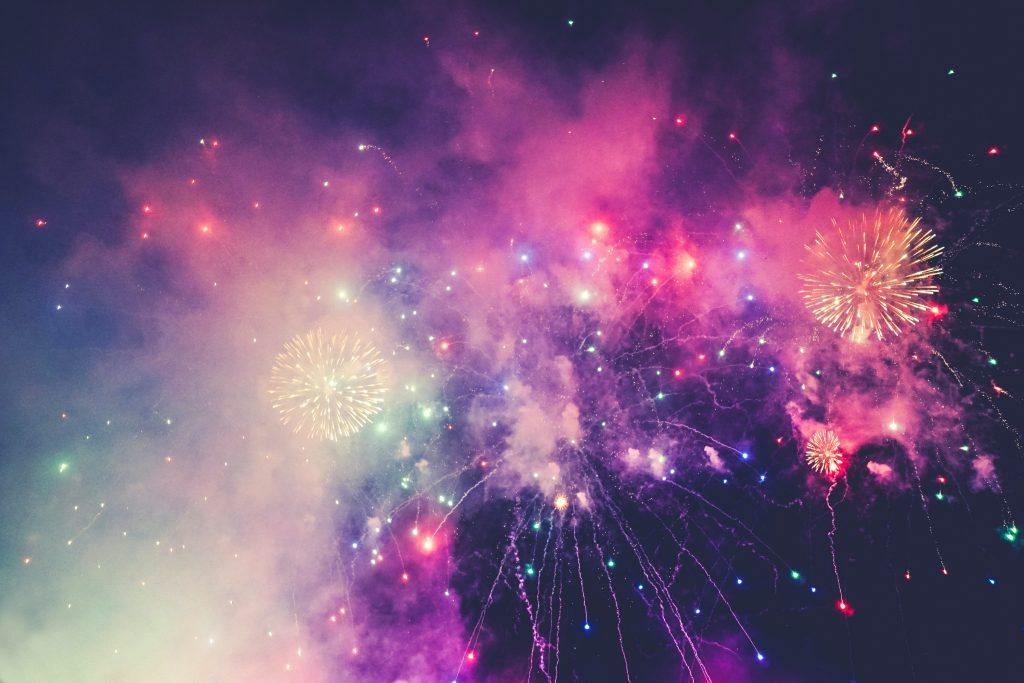 Dunorlan Park Fireworks Tunbridge Wells
